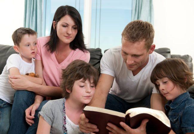Invito alla preghiera in famiglia
